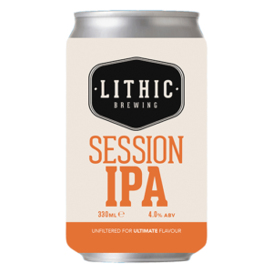 Session IPA beer Lithic Brewing